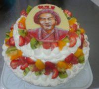 マルイ溝口店でも似顔絵ケーキ!